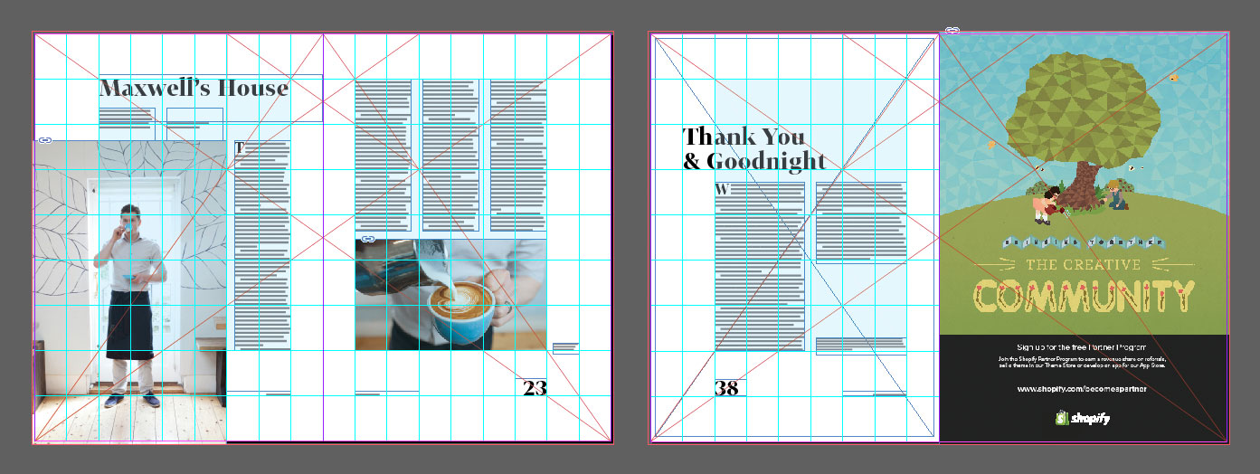Digest's typography & grids (part 1)