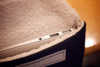 Photo of the ColcaSac MacBook Air 11 sleeve