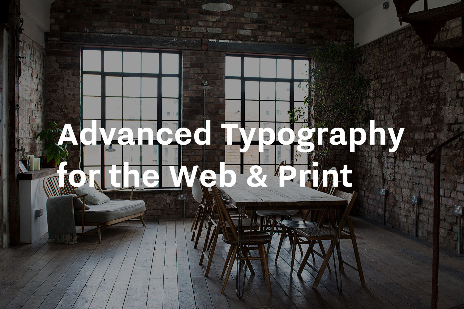 Article illustration for Advanced Typography for the Web & Print