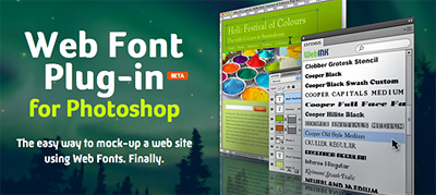 Article illustration for Extensis' Web Font Plug-In