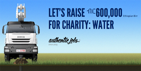 Article illustration for Help us raise $35,000 for clean water in Ethiopia