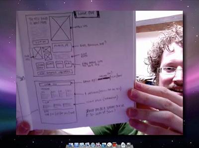Article illustration for 'How to design a portfolio site' screencast
