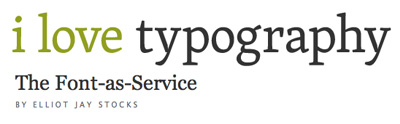 Article illustration for The Font-As-Service