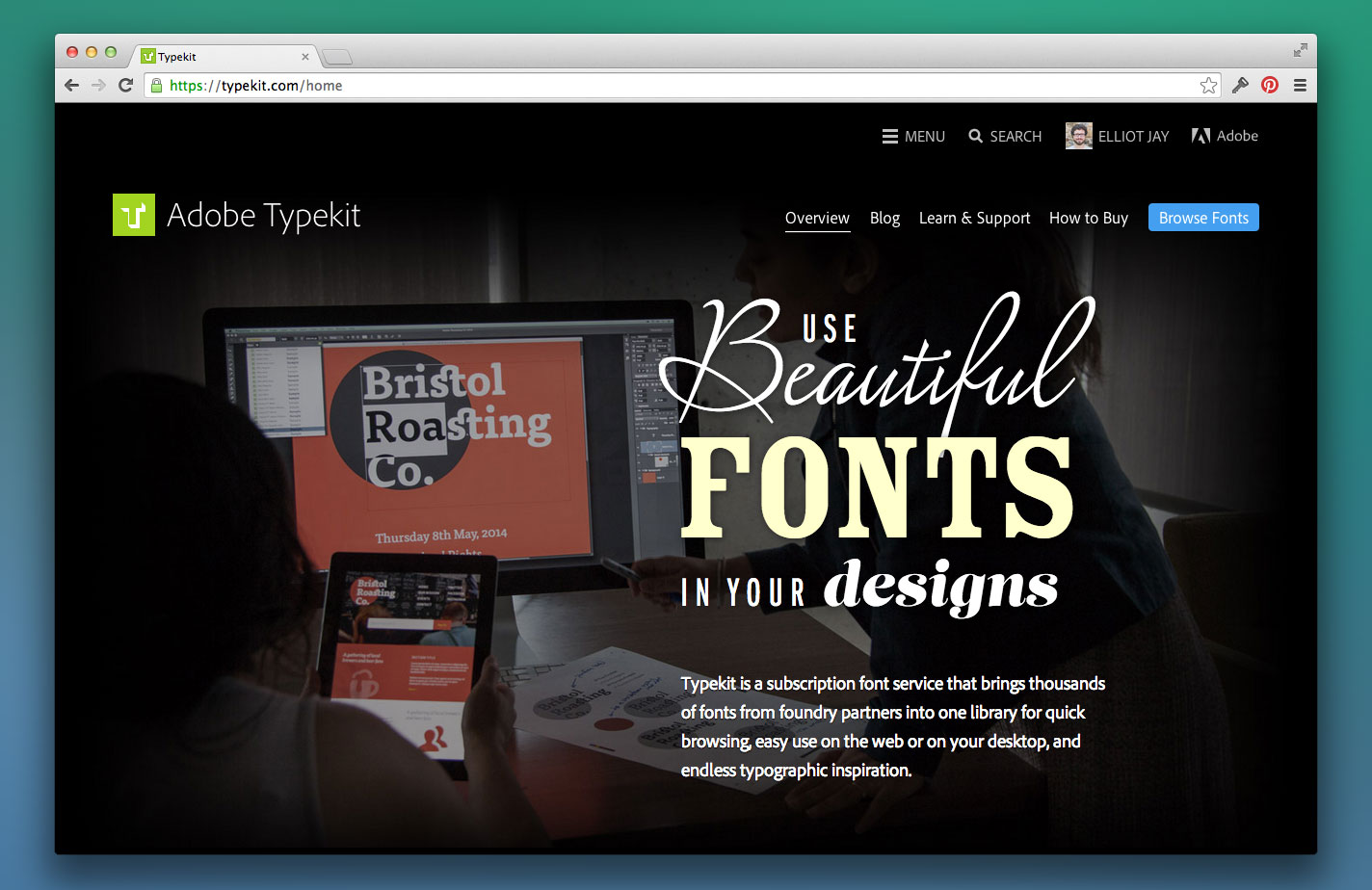 Article illustration for Typekit updates for CC 2014