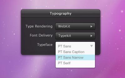 Article illustration for Using web fonts in desktop design apps